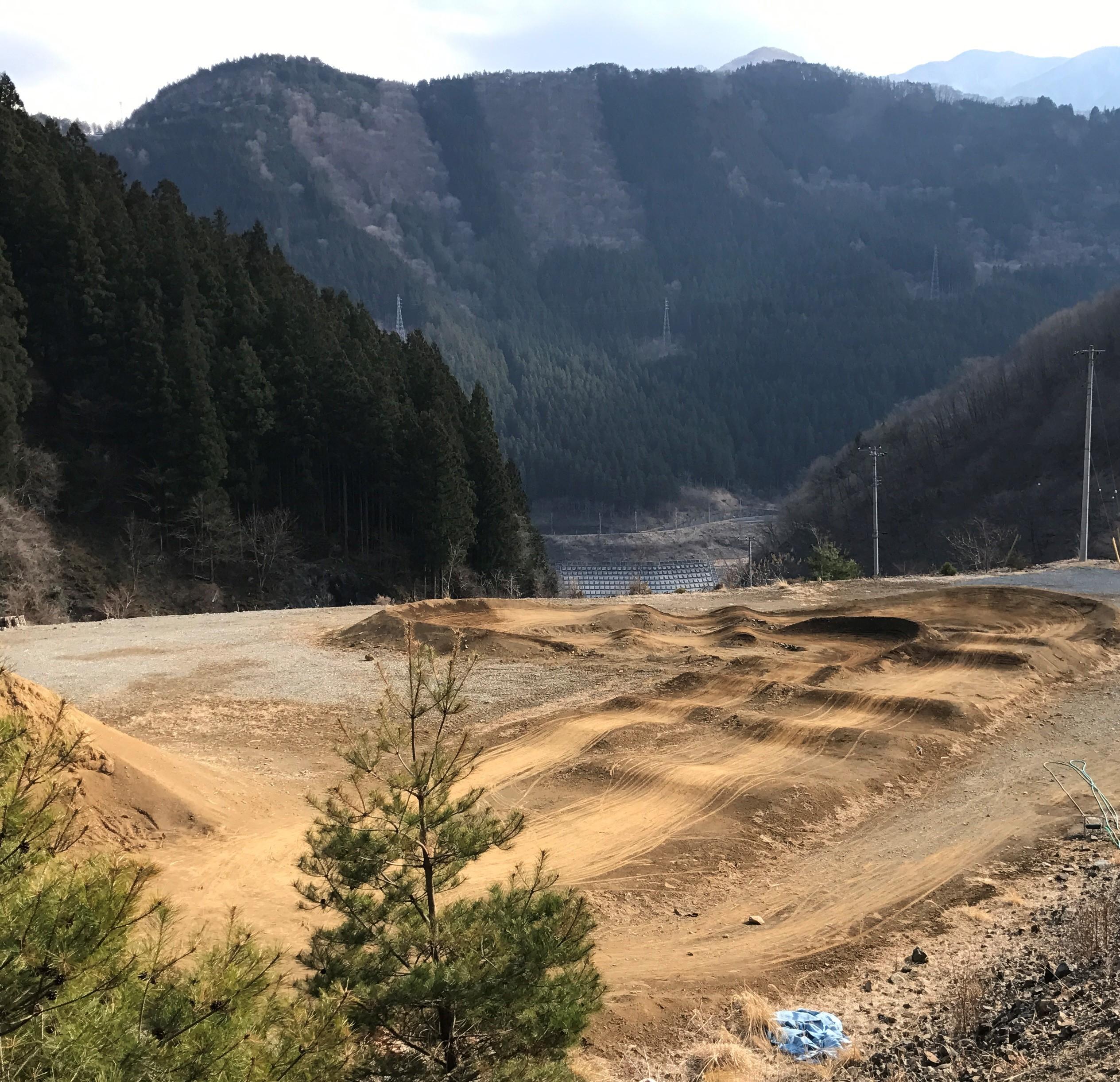Digged at Chichibu Takizawa Cycle Park BMX Course
